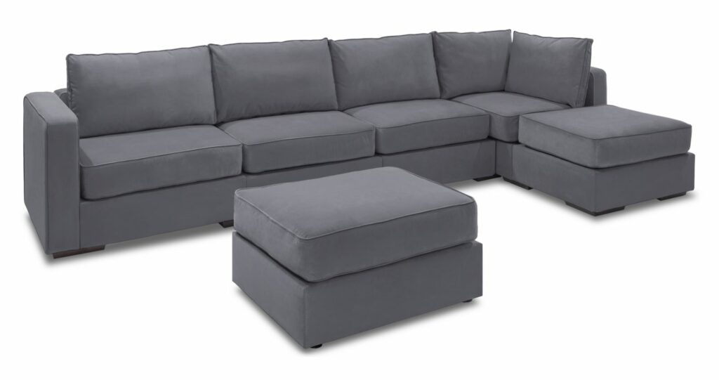 Lovesac Sactional Couch Grey