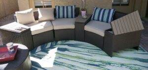 Outdoor Couch from Walmart